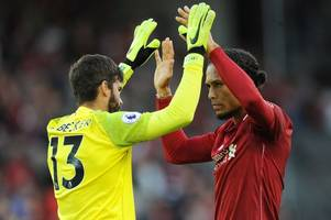 liverpool desperate to tie virgil van dijk and alisson down to new contracts