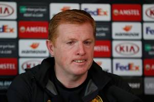 neil lennon's celtic press conference in full as he expresses 'disappointment' at leigh griffiths' discipline