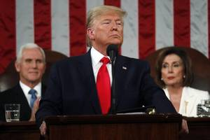 here's what democratic legislators chanted during the state of the union address