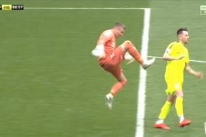 marc mcnulty to ask rangers keeper allan mcgregor for explanation over bizarre flying kick