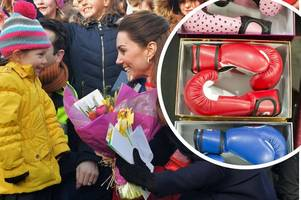 the presents prince william and kate middleton took home to their children from wales