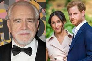 meghan markle and prince harry 'driven out of uk' and when queen dies 'rest should go' says brian cox