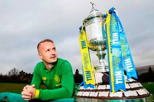 leigh griffiths makes 'stamp' claim as celtic star issues praise for referee