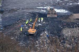 police search swansea valley landfill site as part of murder probe