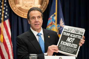 cuomo vows to sue trump over 'abuse of power' in cutting access to trusted traveler programs