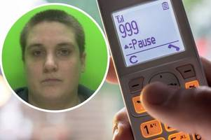woman jailed after wasting up to £100,000 in public money making nuisance 999 calls