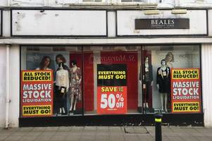 beales in yeovil: latest on store's future as shoppers told 'everything must go'