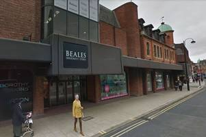 peterborough and wisbech beales to close after business goes under