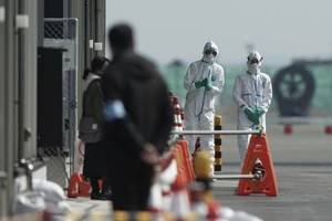 11 americans aboard cruise ship in japan among those infected with new coronavirus