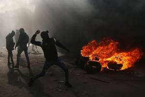 palestinian killed in clashes with idf in the west bank