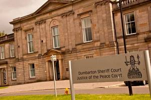 balloch yob threatened girlfriend just hours after contact ban