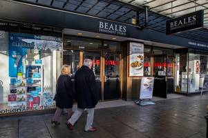 beales to close lincolnshire store after firm falls into administration