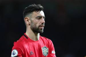 bruno fernandes 'unhappy' with first man utd start after january transfer