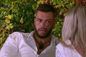 love island's smitten finn tapp has a special question for paige turley
