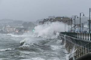 Storm Ciara brings 70kph winds to Cornwall and 'it's going to get worse'