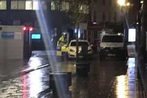 Man dies after 'disturbance' outside city centre pub
