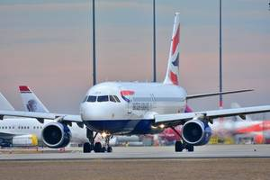 British Airways records fastest ever New York-London flight at more than 800mph, as Storm Ciara ...
