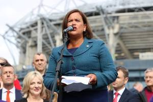 sinn fein vows to work with like-minded parties to form government