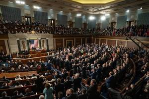 the most horrifying thing about trump's state of the union? the 2 words he never ...