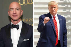 Amazon Wants Trump to Testify in Lawsuit Over $10 Billion Microsoft Contract Alleging 'Unmistakable Bias'