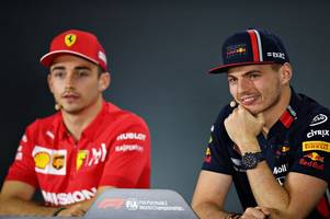 mercedes boss hints at possible charles leclerc and max verstappen switch in the future