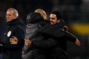 Mikel Arteta details Pep Guardiola conversations as Arsenal boss 'misses' mentor