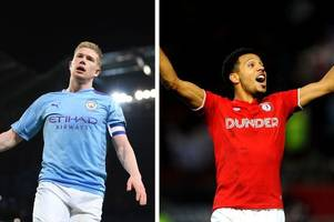 Bristol City midfielder tells classy tale of swapping shirts with Manchester City's Kevin De Bruyne