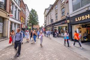 Man arrested after protest in Nottingham city centre