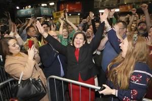 irish election produces an earthquake as sinn fein tops poll