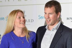 queen's favourite grandson peter phillips 'splits from wife' after 12-year marriage