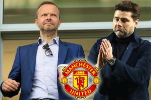 man utd chief ed woodward 'keen' on mauricio pochettino after recent discussions
