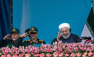 amid high tension, iran remembers 1979 islamic revolution