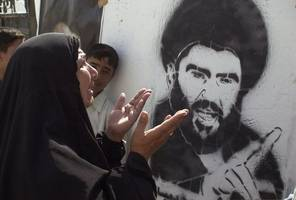 iraq's sadr to dissolve 'blue cap' supporters group accused of killing protesters