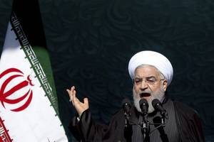 us enmity towards iranian nation rooted in its fear of revolution's might: rouhani