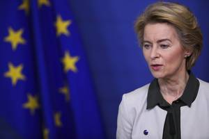Von der Leyen 'surprised' at UK suggestion of Australia-style EU relationship