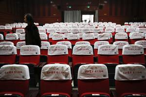 the wuhan coronavirus has cost china's movie business over $1 billion in lost revenue already