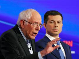 mayor pete's awkward embrace of billionaires isn't a moral disagreement with bernie sanders, it's a campaign strategy