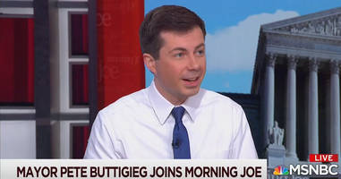 why is the media pretending that pete buttigieg being gay wouldn't be a problem against trump?