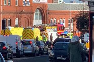 heavy emergency service presence after man 'electrocuted' outside mcdonald's - updates