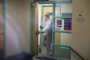 worthing hospital worker named as one of eight new uk coronavirus cases