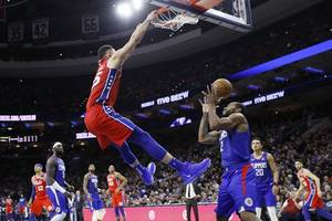 richardson, simmons lead 76ers past clippers 110-103