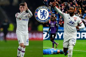 chelsea news: billy gilmour's new role, dembele caution, safe standing update, man united squad