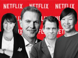 we identified the 54 most powerful people at netflix. here's our exclusive chart of its top executives and their roles. (nflx)