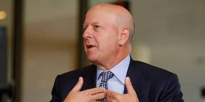 goldman sachs ceo david solomon says 'it's too early' for markets to react to bernie sanders' booming campaign