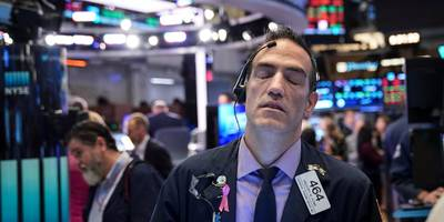 stocks tumble after wuhan coronavirus cases and deaths surge to a new daily high