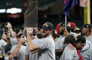Scherzer, Nationals start quietly for World Series champions
