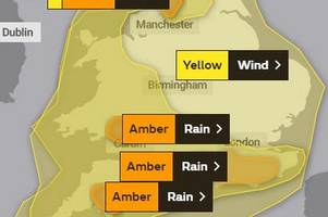 Storm Dennis: Met office heightens weather warning to amber ahead of severe rainfall