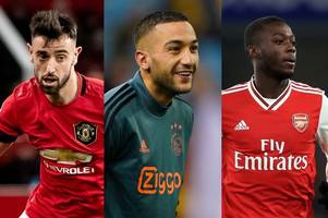 Chelsea fans troll Bruno Fernandes and Nicolas Pepe after Hakim Ziyech transfer announcement