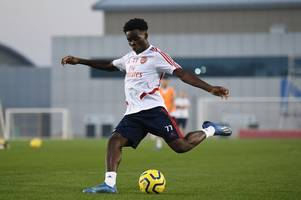 'here we go again' - arsenal fans send message to raul sanllehi over bukayo saka contract talks