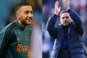Rafael van der Vaart explains why Frank Lampard will get the best out of Hakim Ziyech at Chelsea